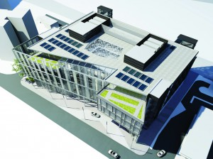The design for the Subsea7 office in Brighton Road