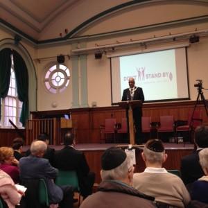 The Mayor, Muhammad Sadiq, addressed the event
