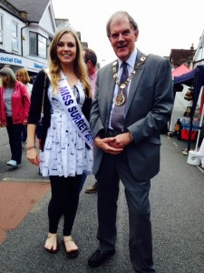 On 3 July Richard, the Mayor of Sutton, opened the Belmont Festival in the company of Miss Surrey