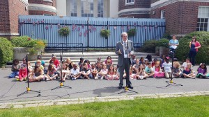 Opening the Wallington Music Festival
