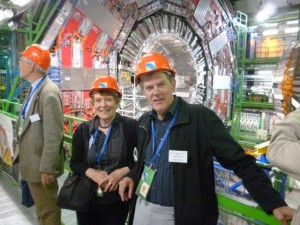 Underground, visiting the large hadron collider