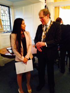 Sunita from Iran took British citizenship thismorning