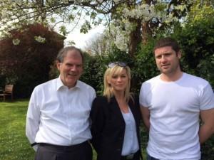 three candidates sized