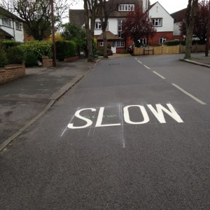 slow in road