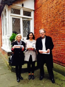 Amna Ahmad, our GLA candidate in the election next May 5, visited Sutton South on 5 December