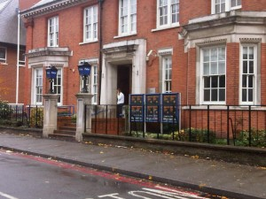 Sutton police station in Carshalton Road